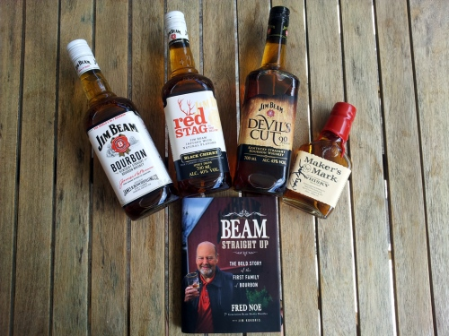 Das Jim Beam Care-Paket.