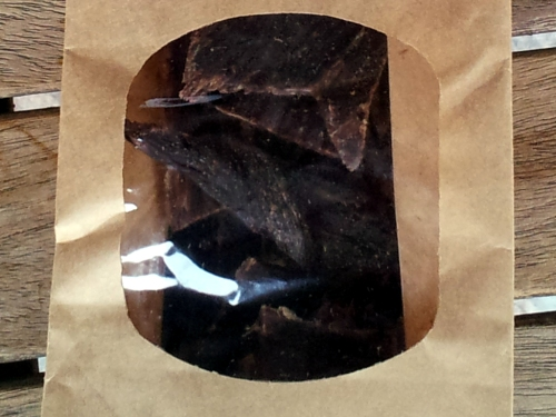 Dörrle - Der Geschmack entwickelt sich beim Kauen.