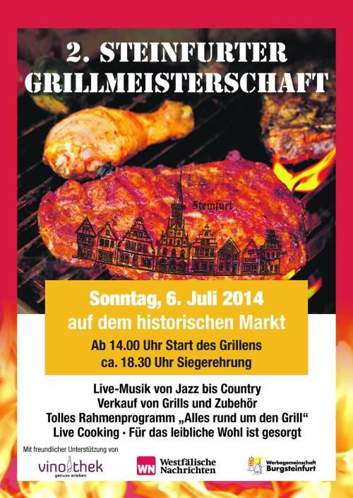 2. Steinfurter Grillmeisterschaft (2014)