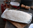 Filet im Heubett unter Salz