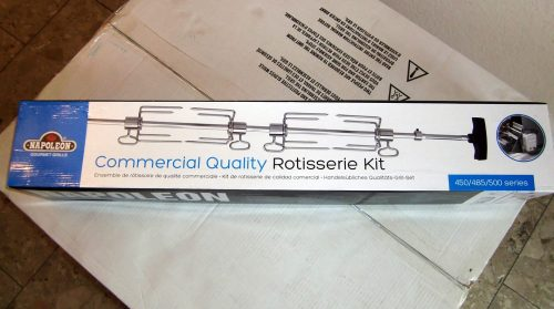 Napoleon Commercial Quality Rotisserie Kit.