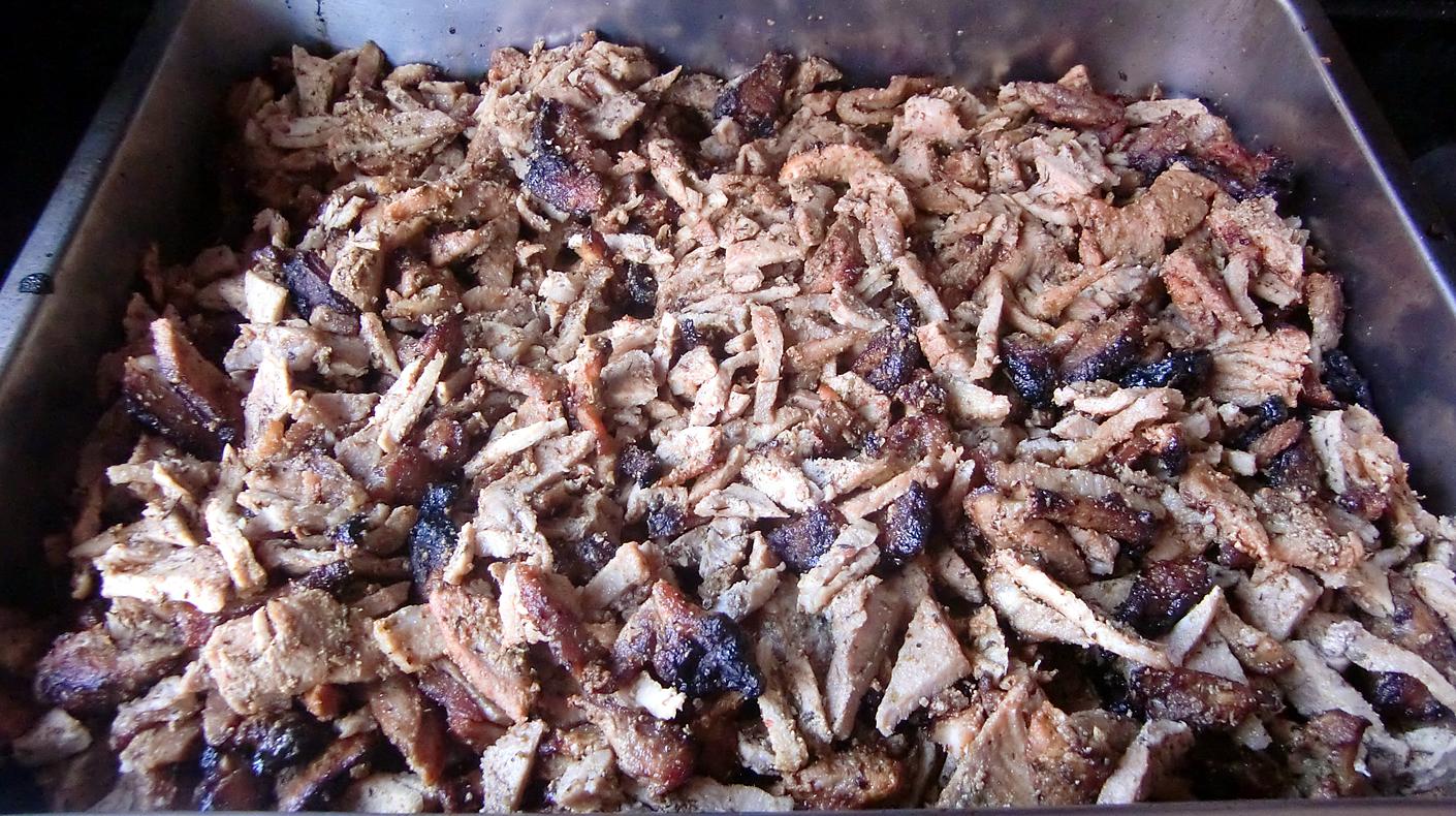 Pulled Pork Gasgrill Rotisserie : Ostergyros oldmountainbbq