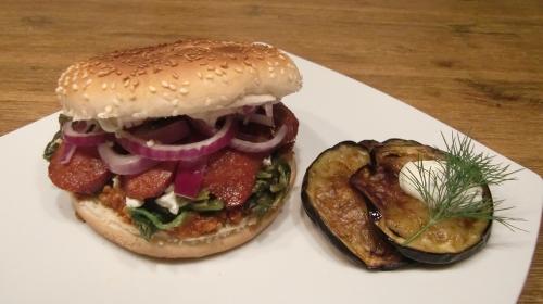 Burger F24 - ein köstlicher Türkbürgür.