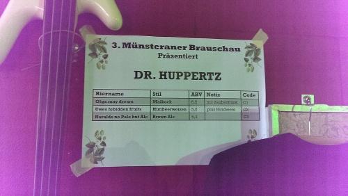 Brauschau Münster 2015 - Dr. Huppertz