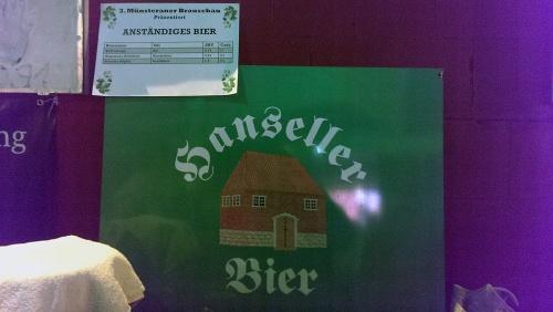 Brauschau Münster 2015 - Anständiges Bier