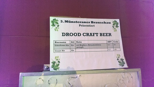 Brauschau Münster 2015 -  Drood Craft Beer